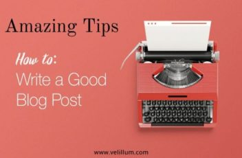 tips to write a blog