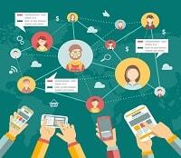 social media marketing SMM industrial training